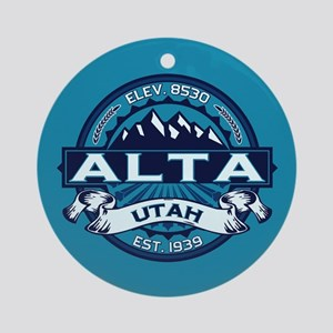 Alta Ice Ornament (Round)