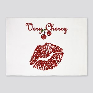 Very Cherry Kiss 5'x7'Area Rug