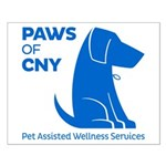 PAWS of CNY, Inc. (Blue) Posters
