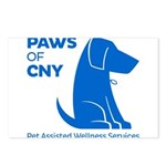 PAWS of CNY, Inc. (Blue) Postcards (Package of 8)