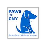 PAWS of CNY, Inc. (Blue) Sticker