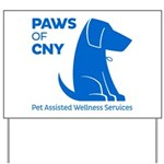 PAWS of CNY, Inc. (Blue) Yard Sign