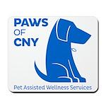 PAWS of CNY, Inc. (Blue) Mousepad