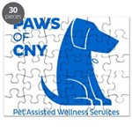 PAWS of CNY, Inc. (Blue) Puzzle