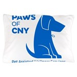 PAWS of CNY, Inc. (Blue) Pillow Case