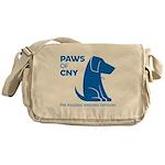 PAWS of CNY, Inc. (Blue) Messenger Bag