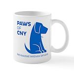 PAWS of CNY, Inc. (Blue) Mugs