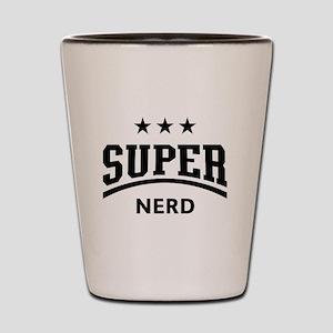 Super Nerd Shot Glass