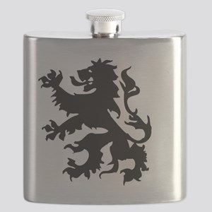 Dutch lion Flask