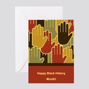 Black history month greeting cards cafepress celebrating black history month greeting cards m4hsunfo
