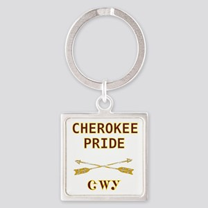 Cherokee Pride With Arrows Keychains