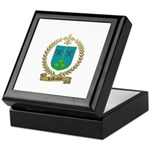LAROCQUE Family Crest Keepsake Box