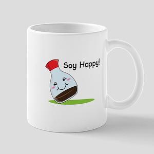 Soy Happy Mugs