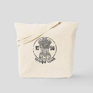 Ashoka Pillar 1950 Tote Bag