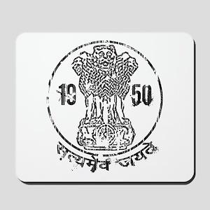 Ashoka Pillar 1950 Mousepad