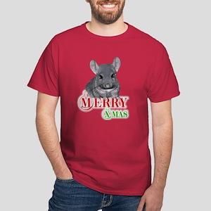 Chin Merry XMas Dark T-Shirt