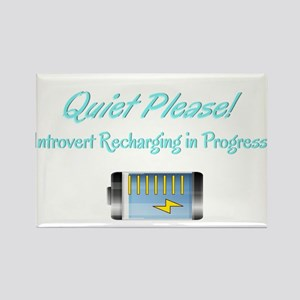 Quiet Please: Introvert Recharging Magnets