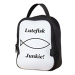 Lutefisk Junkie Neoprene Lunch Bag
