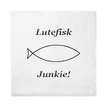 Lutefisk Junkie Queen Duvet