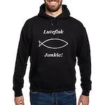 Lutefisk Junkie Hoodie (dark)