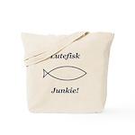 Lutefisk Junkie Tote Bag