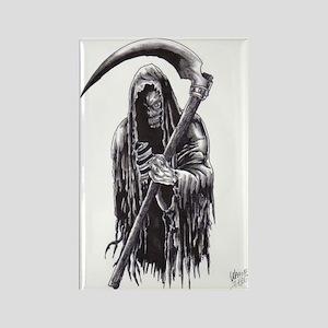Dark Reaper Of Death Rectangle Magnet