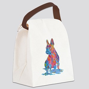 Best French Bulldog Gifts Canvas Lunch Bag