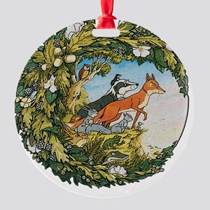 The Animals Of Farthing Wood Round Ornament