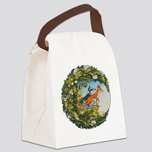 The Animals Of Farthing Wood Canvas Lunch Bag