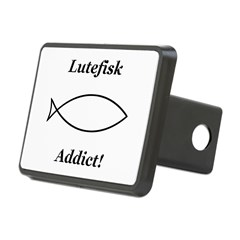 Lutefisk Addict Hitch Cover