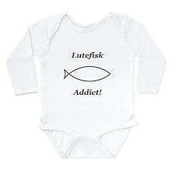 Lutefisk Addict Long Sleeve Infant Bodysuit