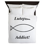 Lutefisk Addict Queen Duvet