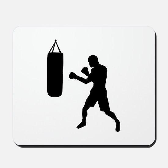 Boxing punching bag Mousepad