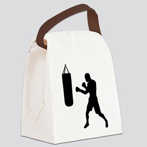 Boxing punching bag Canvas Lunch Bag