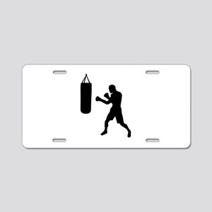 Boxing punching bag Aluminum License Plate