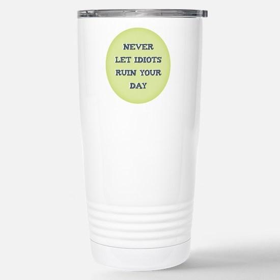 Idiots Stainless Steel Travel Mug