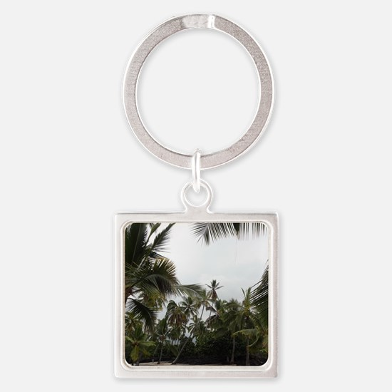 Palms in the Sand Keychains