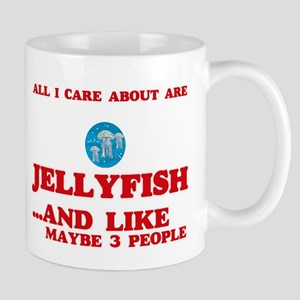 All I care about are Jellyfish Mugs