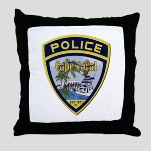 Cape Coral Police Throw Pillow