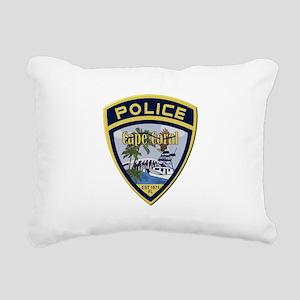 Cape Coral Police Rectangular Canvas Pillow