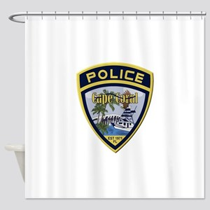Cape Coral Police Shower Curtain