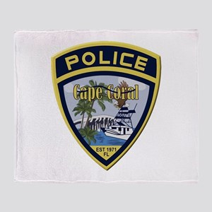 Cape Coral Police Throw Blanket