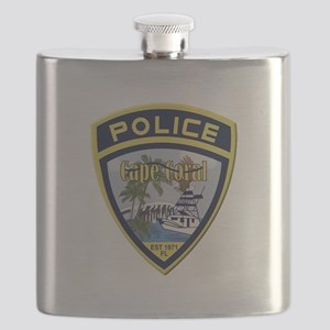 Cape Coral Police Flask