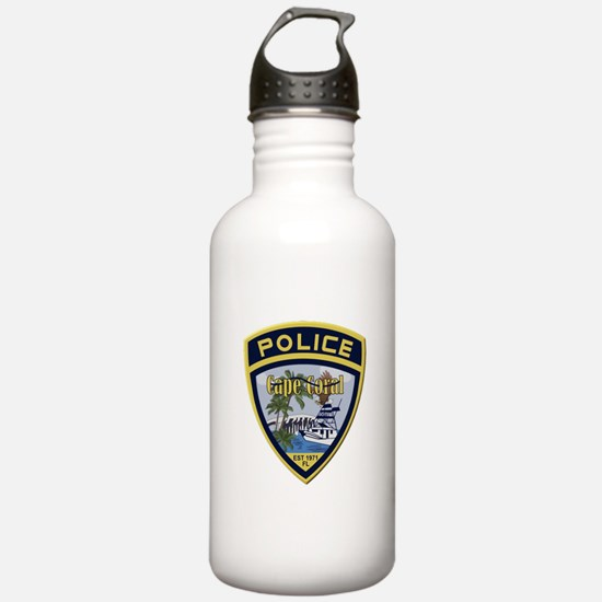 Cape Coral Police Water Bottle
