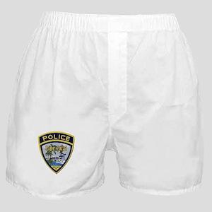 Cape Coral Police Boxer Shorts