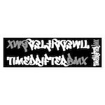 Timedrifterbmx Frame / Bars Sticker