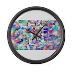 Vortex Large Wall Clock