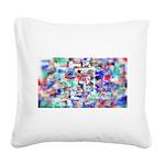 Vortex Square Canvas Pillow