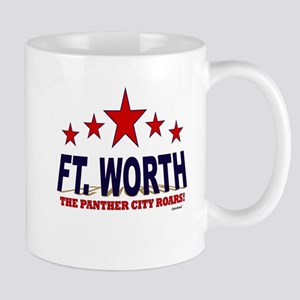Ft. Worth The Panther City Roars Mug