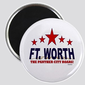 Ft. Worth The Panther City Roars Magnet